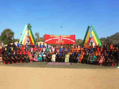 Indian Army Holds Children Summer Adventure Camp