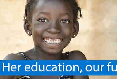 Her Education, Our Future for Girls' Education