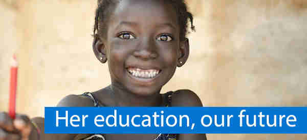 Her Education, Our Future. Photo: UNESCO