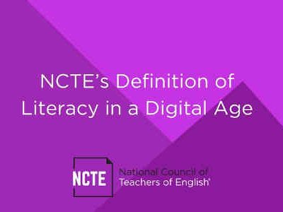 How to Define Literacy in the Digital Age