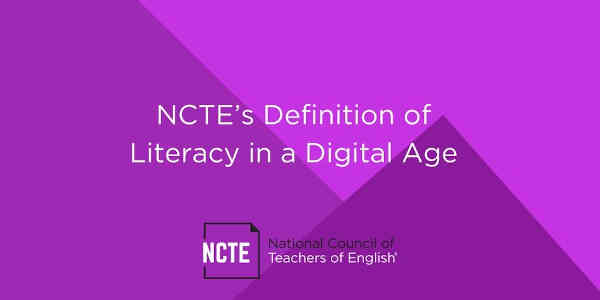Literacy in the Digital Age. Photo: NCTE
