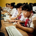 One third of Internet users are children – they need to be empowered to use the Internet safely and smartly. Photo: UN Viet Nam / Aidan Dockery